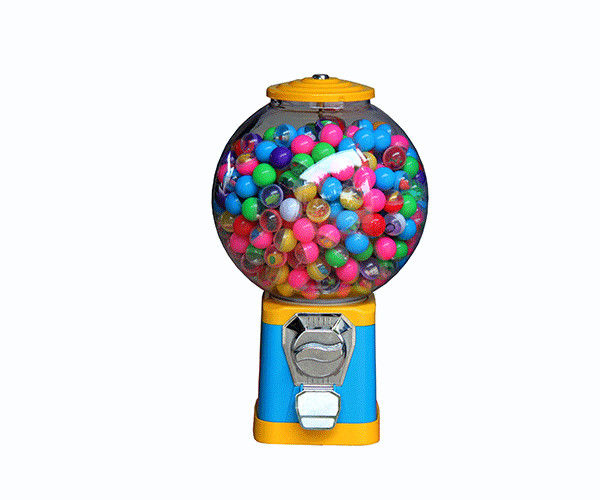 Mini Round Toy Balls Gumball Vending Machine Game Token With CE Certification