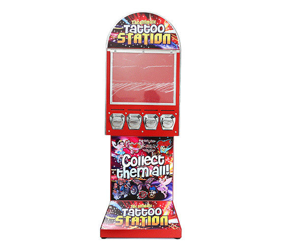 Large Capacity Sticker Quarter Machine 51*41*142CM With CE Certification