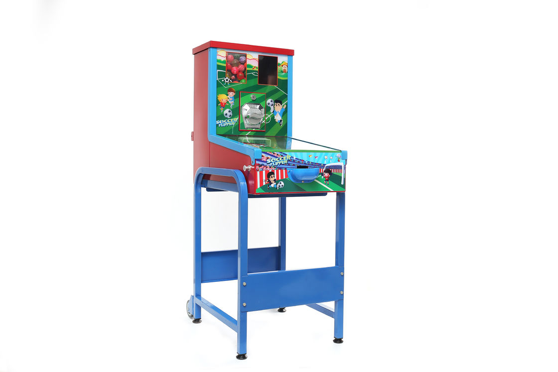 Coin operated soccer CE Tabletop Soccer Table metal 37.5kgs for game center